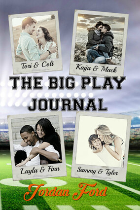 The Big Play Journal  | Jordan Ford Novels | Melissa Pearl Author